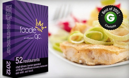 $20 for Restaurant Gift-Card Pack from Foodie Charlotte ($43 Value)