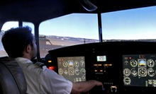 60-Minute Full-Motion Flight Simulator Session for One or Two at Encore Flight in Van Nuys (Up to 70% Off)