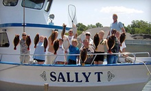 Half-Day Fishing Trip for Two on MondayThursday or FridaySunday from Sally T Fishing (Half Off)