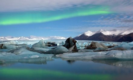 Groupon Deal: ✈ 5-Day Iceland Trip with Airfare and Northern-Lights Tour from Gate 1 Travel. Price/Person Based on Double Occupancy.