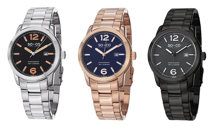 SO&CO Madison Collection Men's Watch from $49.99–$59.99