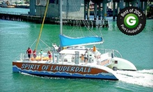 $22.50 for a Two-Hour Cast Away the Day Champagne Sunset Cruise for One from Tropical Sailing ($45 Value)