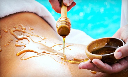 Steamed-Honey Massage or Spa Package with Facial, Body Wrap, and Massage at Heal N U Therapeutic Day Spa (Up to 61% Off)