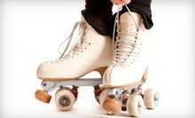 Roller Skating for Two or Four, or Roller Skate or Play Roller Hockey Program at Palm Beach Skate Zone (Up to 52% Off)