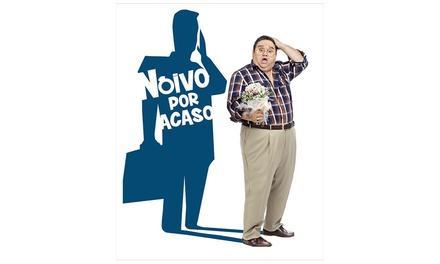 Bilhete para o espetáculo Noivo por Acaso por 12 € no Teatro Villaret (desconto de 40%)