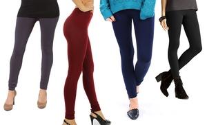 4 pack of lyss loo women 39 s fleece leggings groupon for 88 kirkland salon reviews