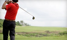 18-Hole Round of Golf with Cart and Beer or Soda for Two or Four at Gothic Hill Golf Course (Up to 56% Off)