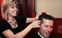 Men's Haircut, Facial, and Shave Packages at Roosters Men's Grooming Center (Up to 57% Off). Three Options Available.