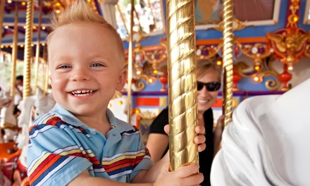 $8 for $15 Worth of Ride Tokens at A Carousel for Missoula