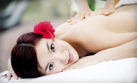 30-Minute Massage or One or Two 60-Minute Swedish Massages with Aromatherapy and a Blow-Dry at Hairteck (Up to 54% Off)