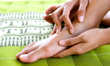 60-Minute Massage or 50-Minute Reflexology Treatment at Comfy Feet Spa (Up to 71% Off)