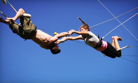 Two-Hour Lesson for One or Two at Emerald City Trapeze Arts (Up to 52% Off)