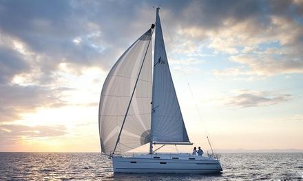 Palmayachts — Doca de Belém: passeio de veleiro no Tejo para 2, 4 ou 10 pessoas desde 34,90€