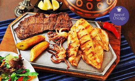Three-Course Dinner for Two or Four at Las Tablas Colombian Steakhouse (Up to 50% Off)