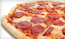 Three $10 Vouchers for Pizza, Sandwiches, and Beef or $50 Worth of Catering at Nicks Pizza &amp; Beef (Half Off)