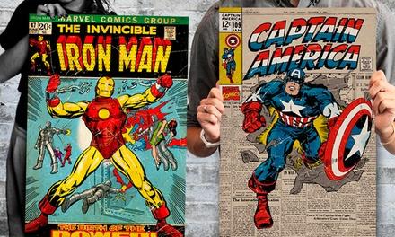 Conjunto de três maxi pósteres oficiais da Marvel por 9,99€