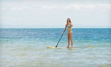 Standup-Paddleboarding Lesson for Two or Four with Board and Paddle Rental from SUPstanding Paddle (Up to 53% Off)