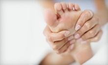 One or Three One-Hour Reflexology Hand and Foot Massages at Blue Skyz Still Waters, LLC (Up to 56% Off)
