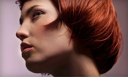 Haircut and Conditioning with Option for Color or Partial or Full Foil Highlights at Rain Salon & Spa (Up to 60% Off)
