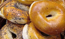 $15 for Three Vouchers, Each Valid for $10 Worth of Bagels and Sandwiches at Bagel World Cafe ($30 Value)