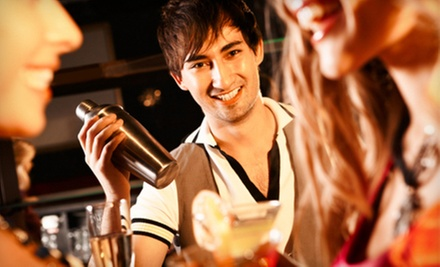 $209 for a Hands-On Bartending Course with Certification at National Bartender School ($495 Value)