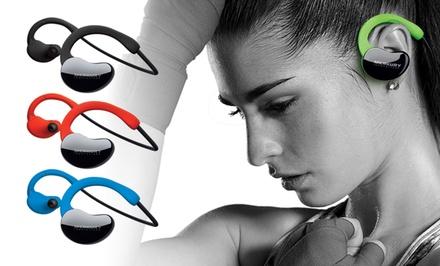 Merkury Innovations Bluetooth Wireless X Series Sweat-Proof Sport Earbuds