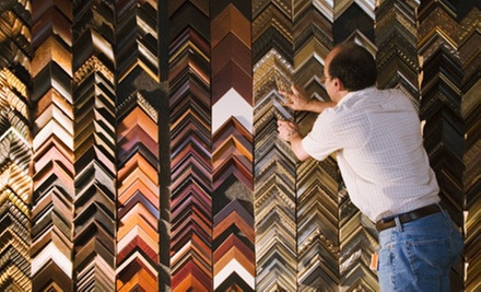 $39 for $100 Worth of Custom Framing, Art, and Restoration at Metro Art & Frame