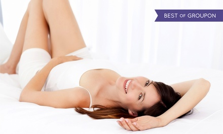 Six Laser Hair-Removal Treatments on a Small or Medium Area at Bare Skin and Laser (Up to 85% Off)