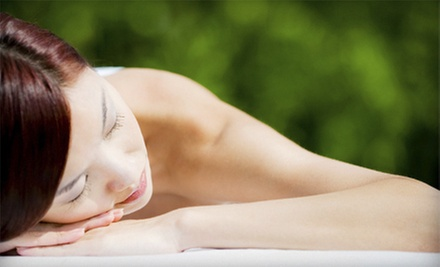 Massage and Manicure or Pedicure with Option for Mini Facial at Jade Wellness Medi-Spa Clinic (Up to 59% Off)