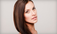 Style with Optional Cut and Conditioning, Single-Process Color, or Partial Highlights at L'Rose Salon (Up to 57% Off)