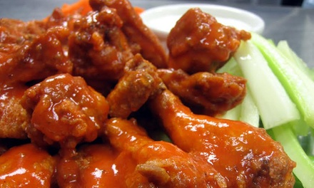 American Food at Alondra Hot Wings (40% Off). Two Options Available.
