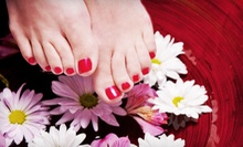 One or Two Classic Women's Mani-Pedis at Venus vs Marz Luxury Spa Lounge (Up to 53% Off)