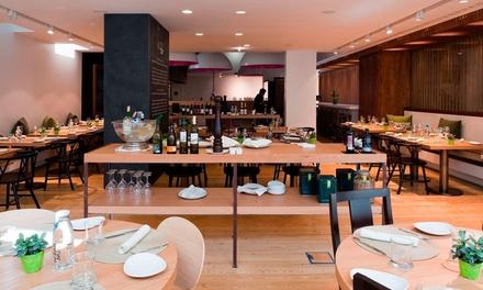 Open Brasserie Mediterrânica — Av. da Liberdade: jantar para 2-4 com entradas, pratos principais e bebidas desde 34,90€