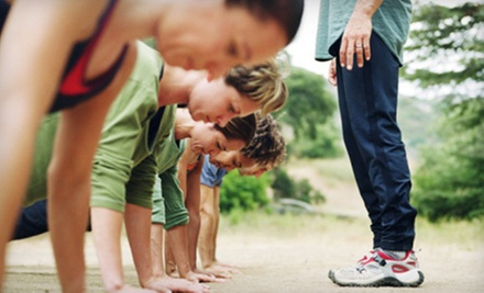 $25 for a Six-Week Outdoor Boot Camp at ClubMynx Fitness ($60 Value)