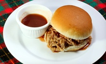 $11 for Pulled-Pork or Pulled-Chicken Meal for Two at Britt's BBQ ($21.80 Value)