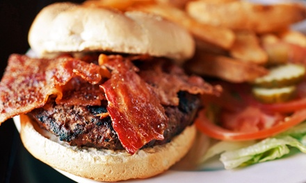 Burgers and American Cuisine at Toast! kitchen & wine bar (Up to 50% Off). Three Options Available.