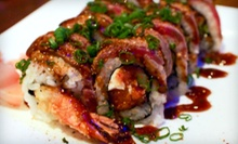 Asian Cuisine, Steak and Sushi for Two or Four at Phin Sushi and Steak (Half Off)