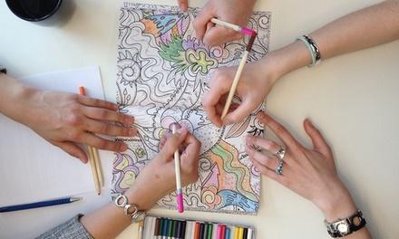 Livro Colour Therapy anti-stress para adultos por 9,90 € ou dois por 14,90€