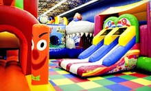 Four Indoor Playground Visits for Children Younger than 3 or Ages 310 at Kidz 'n' Play (Up to Half Off)