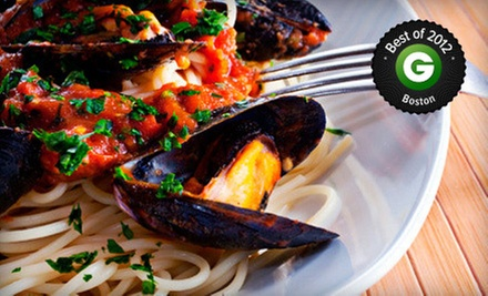 Italian and Portuguese Cuisine at Porto Bello Restaurant (Half Off). Two Options Available.