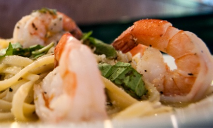 Pizza and Italian Food (Up to 43% Off). Two Options Available. Groupon Reservation Required.