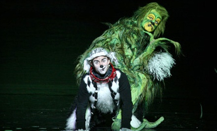 Grinch Christmas Musical Dr Seuss 39 How The Grinch Stole Christmas The Musical Groupon