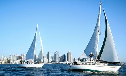 Sail on San Diego Bay and Sip Drinks on a Classic Yacht