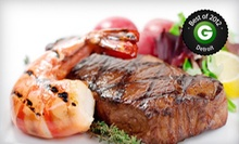 $20 for $40 Worth of Upscale Fare and Drinks at Savannah's in Trenton