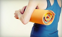 Five Fitness Classes or One Month of Unlimited Yoga Classes at NBalance Hot Yoga & Fitness (Up to 58% Off)