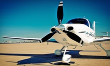 $109 for a One-Hour Private Flight Lesson with Logbook and Photo from Louis Fly Academy ($198 Value)