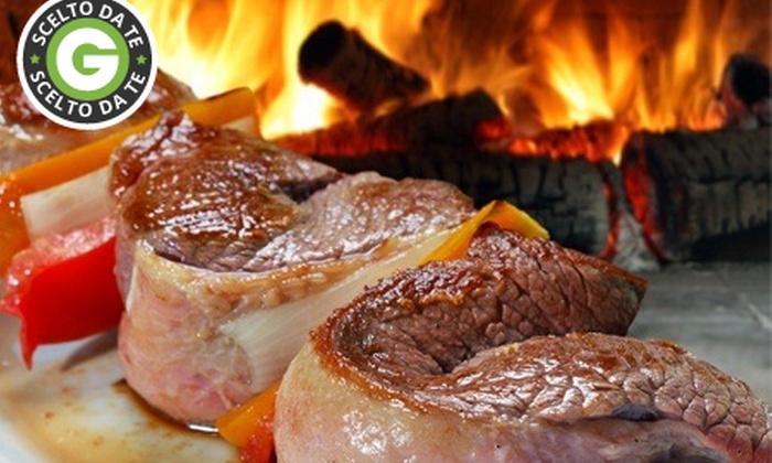Maison Movida - Ferrara: Menu tipico brasiliano con churrasco illimitato e sangria o vino da 29 € invece di 87,50