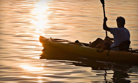Four-Hour Kayak Rental for Two or Canoe Rental for Up to Two Adults and One Child from Baldwin Canoe Rental (Half Off)