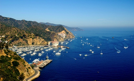 groupon daily deal - 1-Night Stay for Two at Catalina Island Seacrest Inn in Avalon, CA. Valid Sunday–Thursday. Combine Up to 2 Nights.