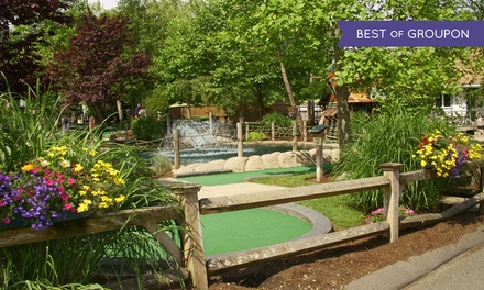 Round of Mini Golf with Small Ice Creams for Two or Four at Paradise Family Golf (Up to 48% Off)